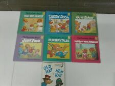 Lot of 12 Vintage Berenstain Bears Hard Cover First Time Books (bb24)
