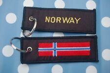 Norwegen Schlüsselanhänger Anhänger Flagge Fahne