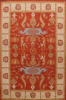 Traditional Floral Oriental Area Rug Hand-Tufted Wool 8x11 Home Decor RED Carpet