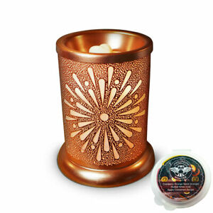 Owlchemy Sunburst Electric wax burner (tart warmer) with light & winter scents