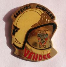 Pin's CASQUE SAPEURS POMPIERS DE VENDEE Lapel pin (ref 090)
