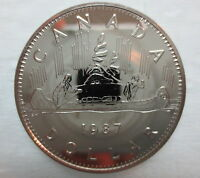 1987 CANADA VOYAGEUR DOLLAR PROOF-LIKE COIN