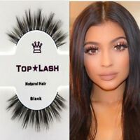 3D Mink Hair 100% Natural Long False Fake Eyelashes Eye Lashes Extension hi