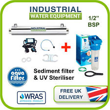 81c91d07d0c 16w UV Water Filter System AND Sediment Pre-filter 7.5l pm 1