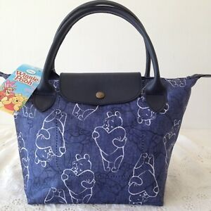 AUTHENTIC DISNEY WINNIE THE POOH Handbag Clutch Purse Tote Shopper Bag 30x20 cm.