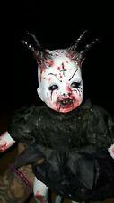 ooak horror doll zombie #evil #demons  horror # Goths #haunted #gothic dark art
