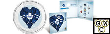 2009 Colorized Toronto Maple Leafs NHL Hockey Coin Set (12402)
