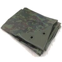 3.5m x 5.4m Green Camouflage Camo XT Tarpaulin Heavy Duty Tarp Ground Sheet