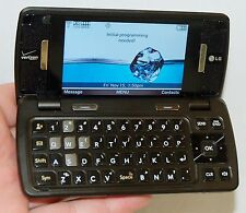 LG Verizon enV Touch Cell Phone Qwerty Keys Flip Bluetooth WiFi LG-VX11000 -C