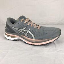 Asics Gel Kayano 27 mujer tamaño de Reino Unido 8 gris/rosa calzado correr - 1012A649