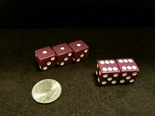 Gaffed gambling collectible dice casino