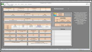 Wartungstool Wartungssoftware Wartungsplaner Wartungsarbeiten dokumentieren XLS