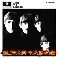 The Beatles Guitar & Bass Tab WITH THE BEATLES Lessons on Disc