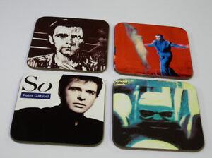 Peter Gabriel Album Cover COASTER Set