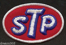Vintage STP OIL Patch Motorcycle Drag Car Race Hot Rod  Badge for Hat or Shirt!