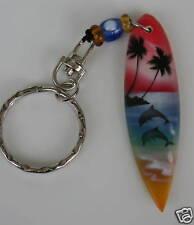 Surfbrett Schlüsselanhänger  Hawaii  Delphin