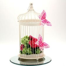 Beautiful Bird Cage Style Centerpieces, Pretty Wedding Table Decoration (44cm)