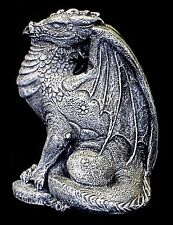 LARGE MYTHICAL DRAGON STATUE DRACO FANTASY 15015