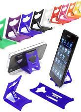 IPhone 5 5s 6 Handy Halterung Blau Faltbar Reise iClip Schreibtisch Display Ständer/Rest