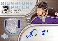 05-06 The Cup SIGNATURE PATCH xx/75 Made! Alexander FROLOV - Kings