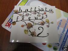 FRANCO BATTIATO FLEURS 2 NUOVO SIGILLATO CD 12 BRANI