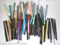 """Women's colorful chop-stick styled hair pins/ accessories 6"""" long (pack of 4)"""