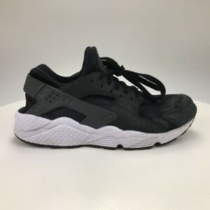 Nike Air Mens Huarache Run PRM Sneakers Black 704830-001 Lace Up Low Top 9.5