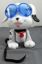 Little Tikes Cute Lil' Pups Swim To Me Puppy Black/White w/ Goggles & Leash OOP