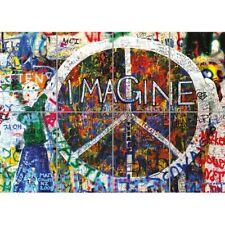 Imagine John Lennon Peace Graffiti Giant Art Print Home Decor New Poster