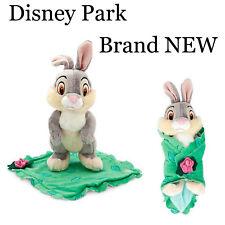 Disney Park Baby Thumper Bambi Plush Stuffed Toy w/ Blanket  Brand NEW w/Tag