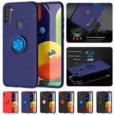 For Samsung A11 A21S M31 A31 A51 A71 A81 A91 Case Shockproof Hybrid Ring Cover