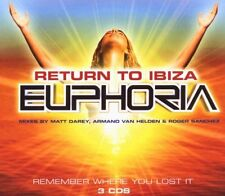 Return To Ibiza (Euphoria) (3xCD) Happy Mondays Underworld Sasha Delerium Moloko