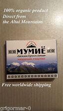 Altai Shilajit, Mumiyo, Mumio, Mumijo, Mineral Pitch 20gr package