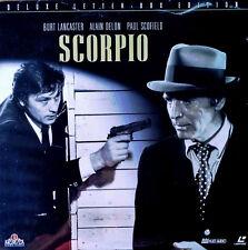 SCORPIO - BURT LANCASTER, ALAIN DELON - MGM / UA - LASER DISC - STILL SEALED