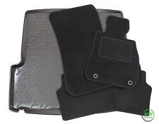 BMW 3 SERIE E91 ESTATE 2005-2012 Tailored black floor car mats + boot tray mat