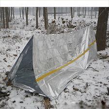 Outdoor Camping Hiking Emergency Blanket Tube Tent Sleeping Bag Survival Rescue