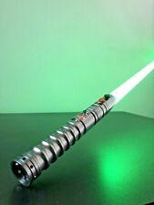 More details for star wars lightsaber metal hilt force fx rgb saber