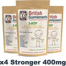5Htp 400mg Depression, Relaxation, Sleep, Anxiety, Serotonin, Appetite Control
