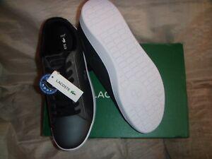 Lacoste Carnaby Evo1187  Women Shoes  Dark Grey / Black  9.5US  NIB