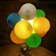 Dolly Inc Teddy Bear Duck Balloon Night Light Lamp Rare! Great Condition!