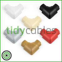D-Line 30x15 Flat Bend for TV Cable Cover Wire Hiding Trunking (All Colours)