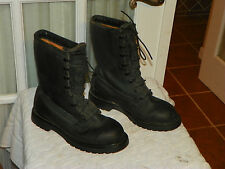 US Military ICW Cold Weather Black LEATHER Goretex Lined Boots size 6 R made USA