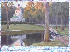 Waldandacht Landschaft Gemälde Kunstwerk Postkarte Ansichtskarte 3027