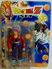 DRAGONBALL DRAGON BALL Z 5'' TRUNKS ACTION FIGURE w/ WEAPONS MOSC SEALED A