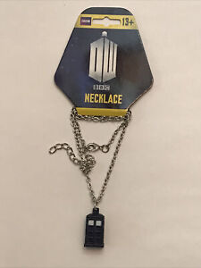 Doctor Who Tardis Pendant Lobster Clasp Chain Necklace