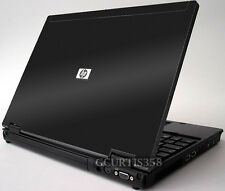 3D CARBON FIBER Vinyl Lid Skin Cover Decal fit HP EliteBook 6930P Laptop