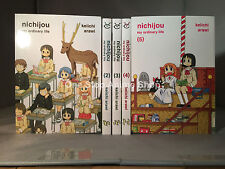 Nichijou My Ordinary Life Manga Volume 1-10  english new sealed