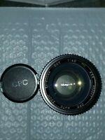 CPC Auto Zoom 80-200mm CCT 1:4.0 MC Camera Lens #952207