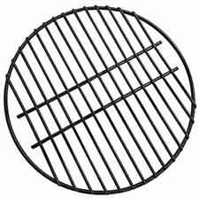 Bbq 18&quot Porcelain Coated Steel Wire Round Cooking Grate Grid Fit For Large