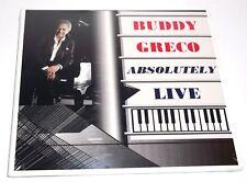 Buddy Greco : Absolutely Live CD NEW Sealed* Digipak